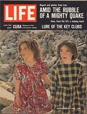 Life Magazine September 21 1962 Birthday, Lure of the Key Clubs VG 042216DBE2