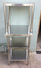 Brand New Stainless Steel Bench with Overshelving 600x600x900x600x450x580 mm