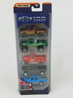 Matchbox Chevrolet Trucks 100 Years Diecast Toy Vehicles 5-Pack