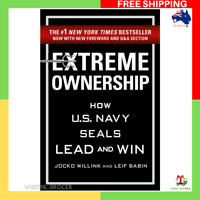 Extreme Ownership by Jocko Willink And Leif Babin Paperback Book NEW FREE SHIP