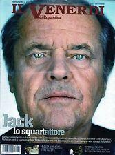 Il Venerdì.Jack Nicholson,Edoardo Sanguineti,Enrico Vaime,Alejandro Inarritu,iii