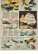 1977 PAPER AD 2 PG Cox Toy Sandblaster Dune Buggy .049 Gas Engine Airplane