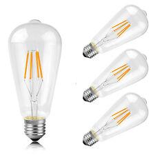 4 Pack ST64 E27 4W Dimmbar LED Filament Glühbirne Antike Vintage Edison 2200K