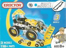 Erector MULTI MODELS (Open Box, All parts Are Still Sealed in Bags) FREE S&H