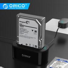 "ORICO USB 3.0 To SATA 2.5''/ 3.5"" Hard Drive Docking Station 5Gbps Super Speed"