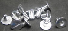 POLISHED ALUMINUM SCREW SETS FOR ALL CAPITAL PLASTICS PAPER MONEY HOLDERS !