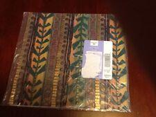 Ambassador Gift Wrap Geometric Gold Green Purple 2 Sheets NEW LV8235