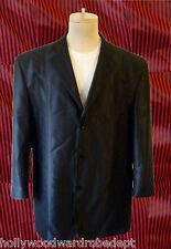 3xl XXXL Lounge club Asymetrical disco tuxedo fancy 48r black
