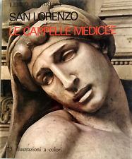 RENZO CHIARELLI SAN LORENZO E CAPPELLE MEDICEE BECOCCI 1971