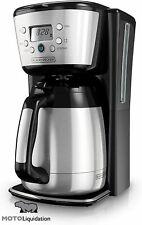 BLACK+DECKER Thermal Coffee Maker, 12 Cup, Programmable, CM2036SC