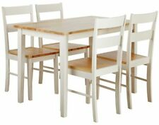 Wooden Dining Room Chairs 5 Pieces
