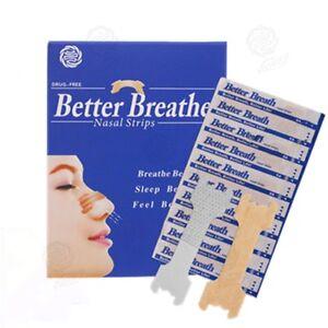 FREE P&P - 1000 Nasal Nose Sleep strips better breathe Stop Snoring Breath UK