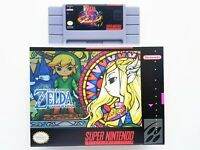 Legend of Zelda Goddess of Wisdom Game / Case - Super Nintendo SNES (USA Seller)
