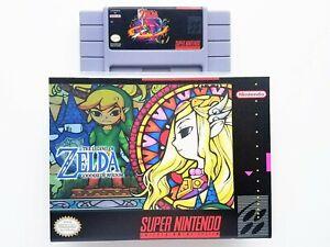 Legend of Zelda Goddess of Wisdom Game / Case - Super Nintendo SNES (USA Seller)