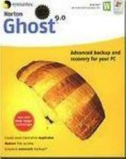 Norton Ghost 9.0 + Manual PC CD hard drive data files backup recover utility!