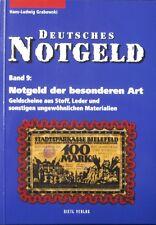 Gietl Deutsches Notgeld Band 9 special issues Germany speciaal noodgeld