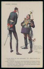 Germany soldiers WWI ww1 war humor satirical propaganda original c1915 postcard