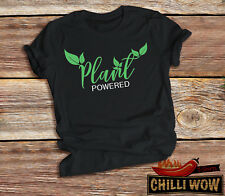 Plant powered unisex t-shirt. Vegan t-shirt. Free delivery