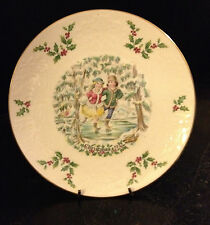 Royal Doulton Christmas Plate 1977 First in a Series