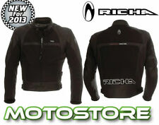 Richa Back Motorcycle Jackets with Removable Armour