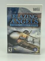 Blazing Angels Squadrons of WWII — Complete! Fast Ship! (Nintendo Wii, 2007) 👀