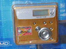 Sony MZ-N505S Net MD Walkman Gold - New in unopened box