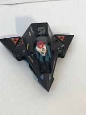 Starcom Shadow Parasite ship with figure Coleco