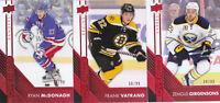 16-17 Upper Deck Overtime Frank Vatrano /99 RED Parallel Bruins 2016
