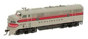 HO Scale - INTERMOUNTAIN 49140-03 BURLINGTON - CB&Q F3A # 162A DCC Equipped