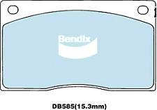 Brake Disc Pad Set  Bendix DB585 GCT For ASTIN MARTIN DB7 DAIMLER JAGUAR XJS