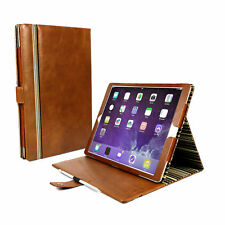 "Alston Craig Genuine Leather Case for iPad Pro 12.9"" Inc 2017 in Brown"