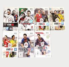Nintendo Wii FIFA Spiele Fifa 08 -09- 10-Fifa11 -12 -13- Fifa 14