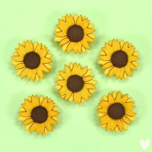 DRESS IT UP Buttons Sunflowers 9374 - Embellishments Sunflowers
