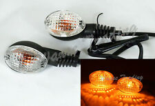 Turn Signals Bulb Light Clear Lens For KAWASAKI KLX250S KLX250SF KLX 250S 250SF