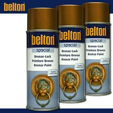 Kwasny Belton special 3 x 400 ml Bronze-Lack Antik Gold Lackspray Antik Look