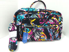 New Vera Bradley Butterfly Flutter Iconic Compact Weekender Tavel Bag Carry-on