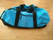 """LL BEAN Adventure Duffle Travel Bag Weather Resistant Blue EXTRA LARGE 34"""" 0V275"""