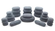 MassageMaster HOT STONE MASSAGE SET: 27 Basalt Stones