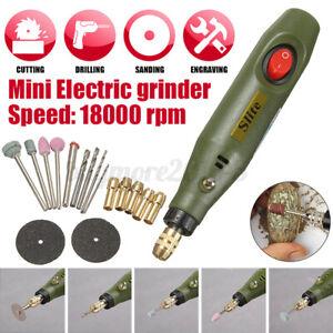 Mini Electric Grinder Polishing Sander Drill Bit Pen Engraver Milling Rotary
