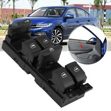 1J4959857D Auto Window Master Control Switch Fits For Golf Seat Leon Toledo NEW