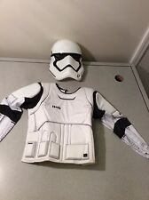 Disney Star Wars Storm Trooper Child Costume Suit Small 4-6~Mask & Top