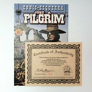Just A Pilgrim Issue 1 Comic Black Bull Exclusive Cover with Authenticity 2001
