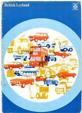 British Leyland Car & Truck 1973 UK Market Brochure Austin Morris Triumph Jaguar