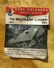 Vintage Carl Goldberg 1/2A Bellcrank & horn