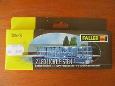 FALLER 2 RAMPES D'ECLAIRAGE à LED pour BATIMENTS en boite éch HO réf 180648