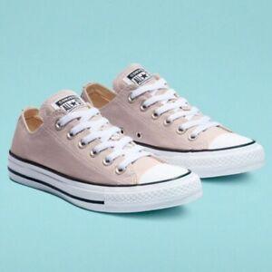 New Converse Women's CTAS OX Violet Ash Sneakers Size 7.5 8 Purple Gray