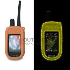 Garmin Alpha 100 Glow in the Dark Orange Protective Gel Silicon Case Cover