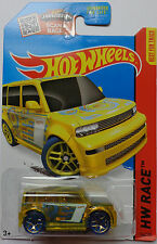 2015 Hot Wheels HW RACE Scion XB 144/250 (Clear Gold Version)