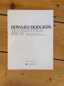 Howard Hodgkin Art Exhibition Catalogue Ten Paintings 1979-85 As new and sealed