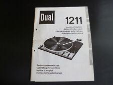Original bedienungsanleitng double 1211